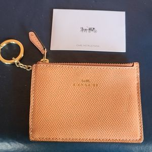COPY - Coach card holder and key  new with tag
